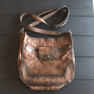 EUC Frye Leather Crossbody Bag